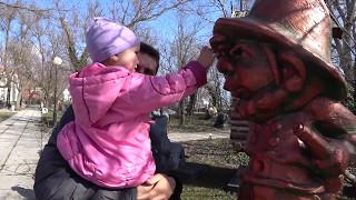 Музей мировой скульптуры в Евпатории с ребенком. Галерея великих людей планеты. Музей русской славы