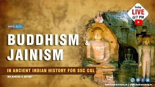 Buddhism &  Jainism | in Ancient Indian History for RRB ALP