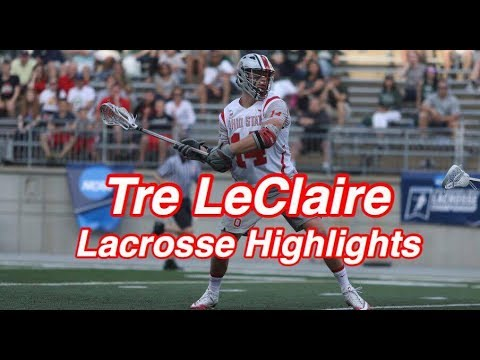 College Lacrosse Highlights: Tre LeClaire #14