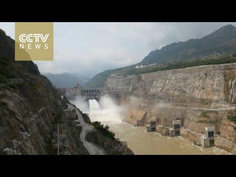 Hydropower station on China
