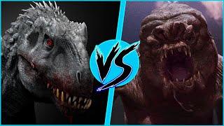 Indominus Rex VS Rancor | BATTLE ARENA | Star Wars | Jurassic World | DanCo VS
