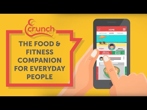 Introducing Crunch - the food & fitness companion for everyday people
