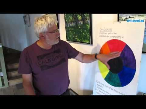 Ölmalerei & Farbenlehre: Zu Gast bei Thomas Freund