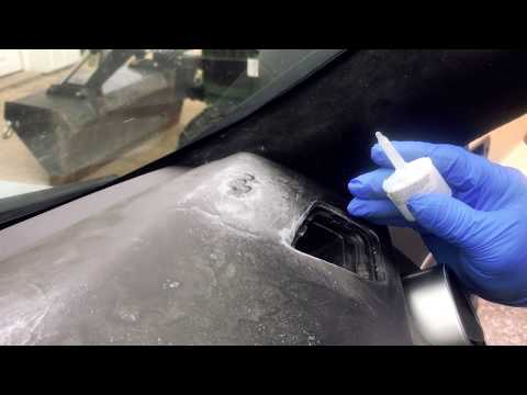 How to repair LR3 cracked dashboard