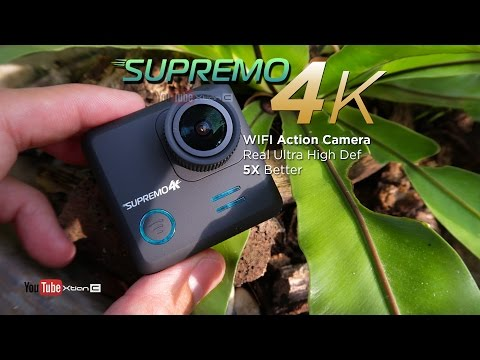 VLOG: Supremo 4k Real UHD WiFi Action Camera Unboxing, Underwater Test & Hands On [Ph]