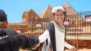 NO NOS DEJAN ENTRAR A LAS PIRÁMIDES DE EGIPTO POR SER YOUTUBERS | POLINESIOS VLOGS