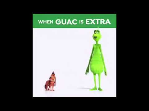 the unfortunate reality that guac is extra
