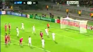 Cristiano Ronaldo Penalty against Olympique Lyon 2011 / 2012