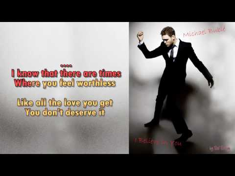 Michael Bublé   I Believe in You   Instrumental