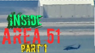 AREA 51 FROM TIKABOO PEAK PART 1 (THE BASE IS VERY ACTIVE)