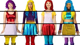 Baixar CLOTHING SWITCH UP SUPER POPS ALL MIXED UP OUTFITS CHALLENGE. TOTALLY TV