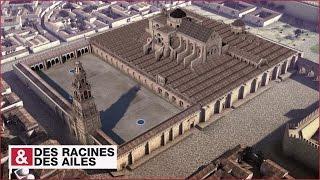 Construction de la mosque-cathdrale de Cordoue reconstitution 3D