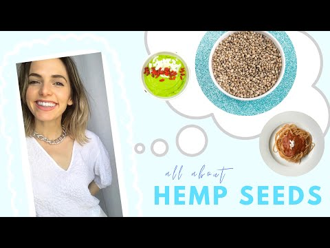 Hemp Seeds Benefits, Nutrition, Recipes & How they compare to Chia Seeds & Flaxseeds | Lauren Vacula