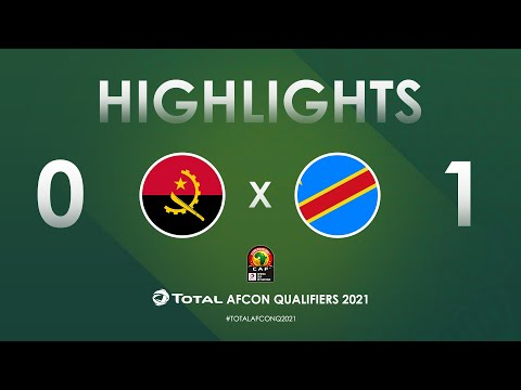 HIGHLIGHTS   Total AFCON Qualifiers 2021   Round 4 - Group D: Angola 0-1 DR Congo