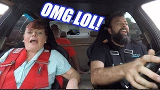 I Took My Mom Out for Doughnuts...LOL!  AND Uncle Sam Engine REVEAL!