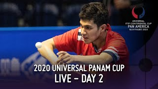 LIVE Day 2 - Afternoon | ITTF 2020 Pan Am Cup