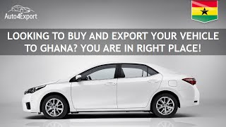 Shipping to ghana from usa - auto4export