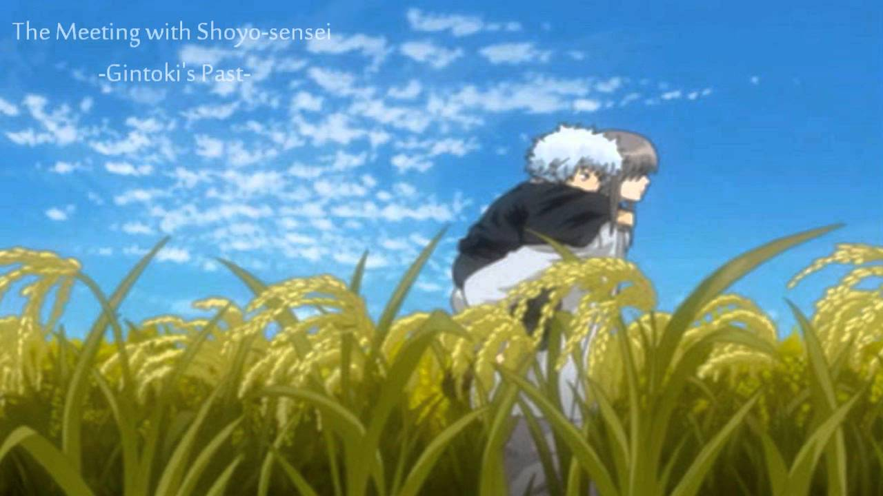 Big Collection OST: The Meeting with Shoyo-sensei (Gintoki ...Gintama Gintoki Past Wallpaper