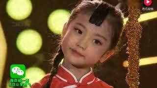 5岁小女孩唱《九儿》太好听了,绝对的天籁之音