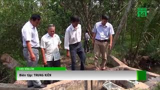 VTC14 | Bến Tre: Nước mặn tràn vào vườn cây ăn quả