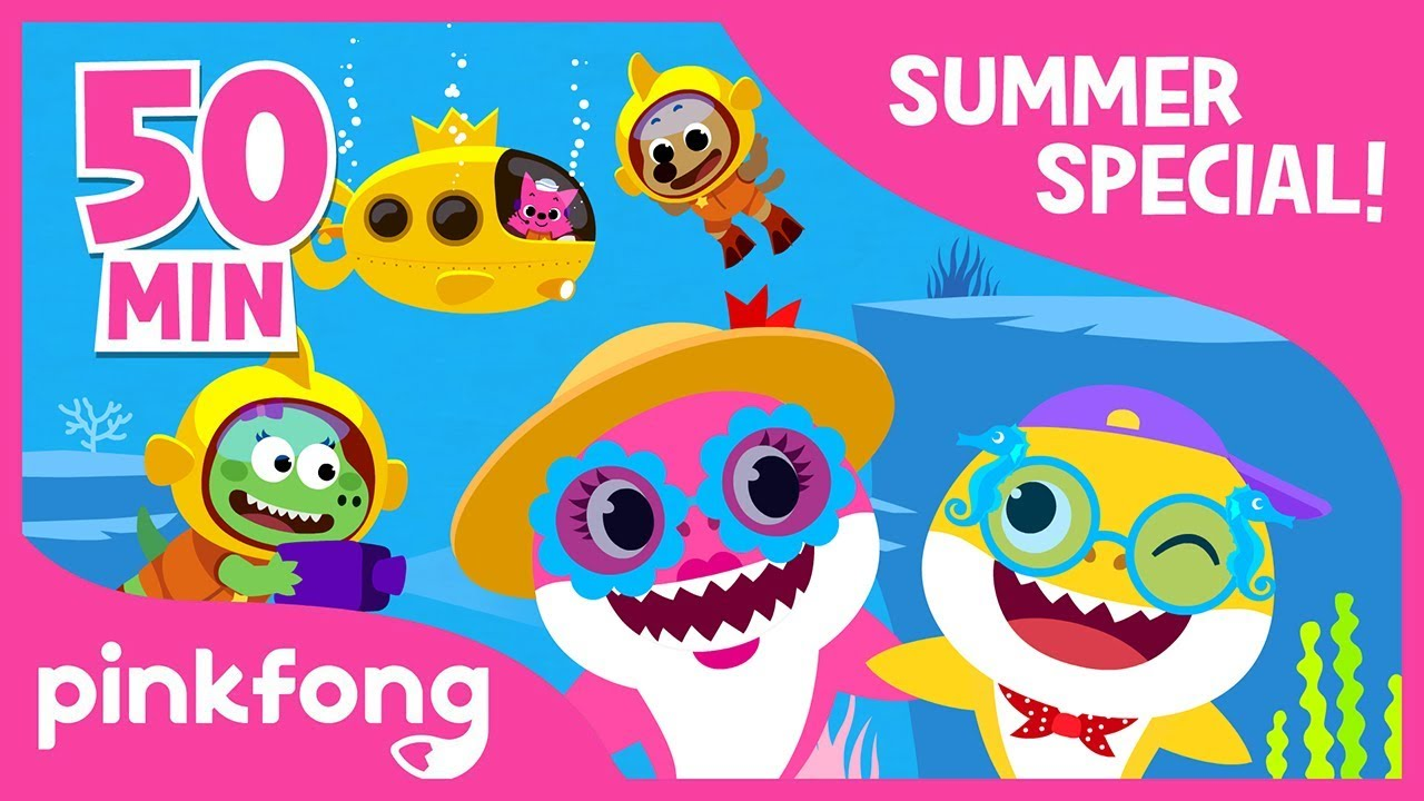 Baby Shark Dance and more | Summer Song Compilation | Kids ...
