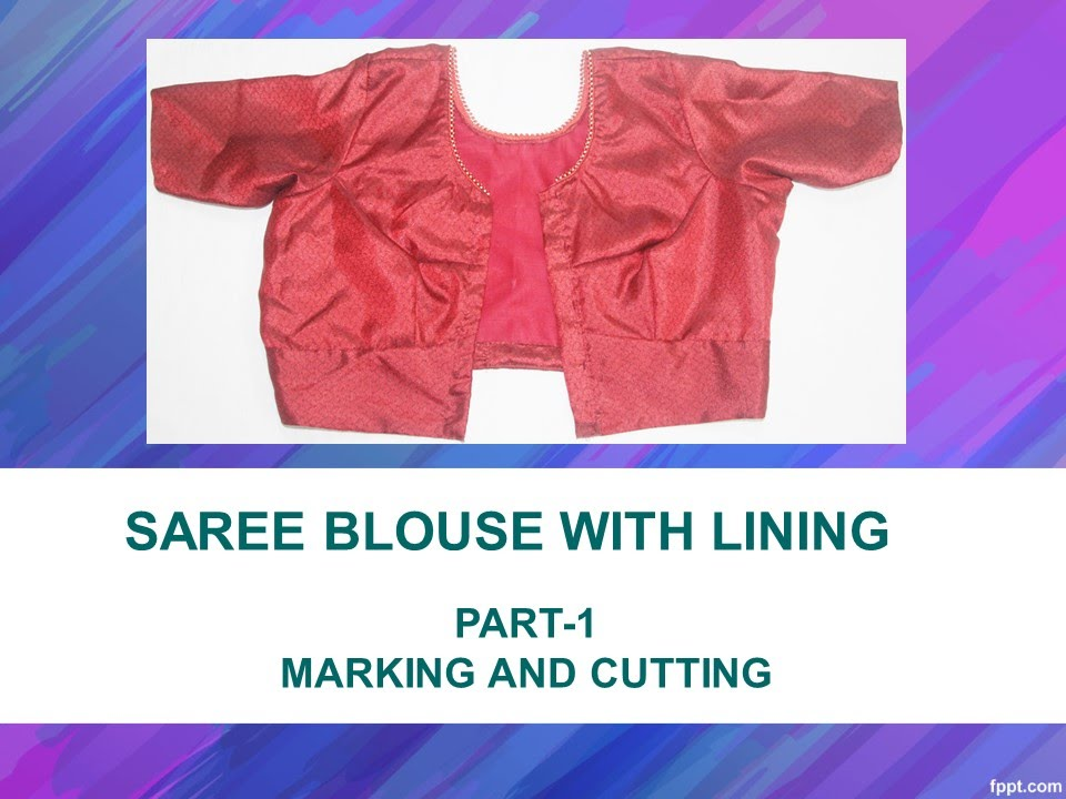 Youtube How To Make A Blouse 2