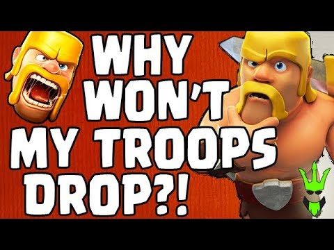 why wont my videos play on my iphone why wont my troops drop spending gems and loot 7995