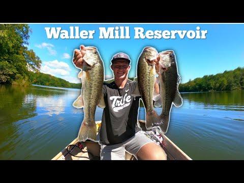 Waller Mill Reservoir- Late Summer Fishing