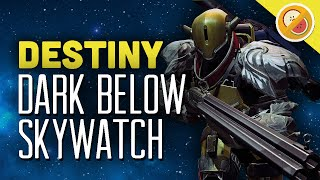 DESTINY The Dark Below DLC Maps SKYSHOCK (PS4 Gameplay Commentary Expansion) Funny Gaming Moments