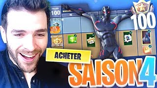 🔥 SAISON 4 - I'm BUYING ALL THE FORTNITE BATTLE Royale!