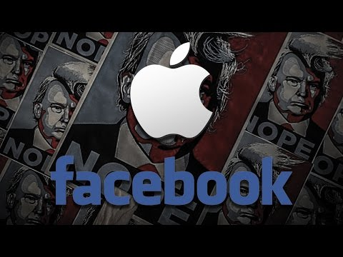 Apple & Facebook Turning Over Trump Protestor Data To Law Enforcement