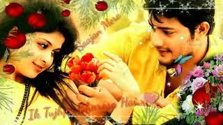 Romantic love status❤ sajan mere ek tujhpe bharosa hai