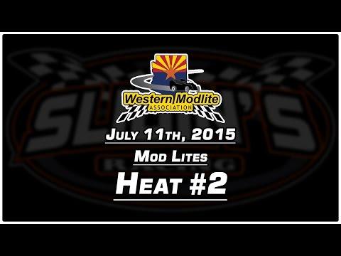 7/11/2015 Canyon Speedway Park - Mod Lite Heat #2