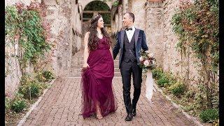 Happy Ever After: Photo shoot at Il Vittoriale degli italiani 2018