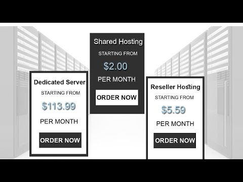 Web Hosting Bangla Tutorial | Learn What is Shared Hosting - Reseller - VPS - and Dedicated Server ?