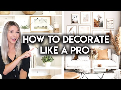 8 HOME DECOR STYLING TIPS | DESIGN HACKS YOU SHOULD KNOW