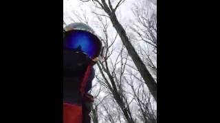 Face cam snowboarding Thumbnail