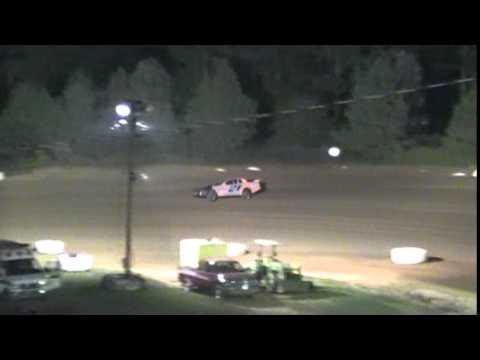 Crowley's Ridge Raceway 9/21/14 #21 Chris Sims Street Stock Heat Race