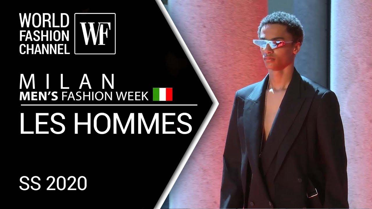 Les Hommes Ss 2020 Milan Men S Fashion Week Youtube