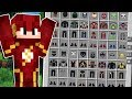 Minecraft Lendário  28  A SALA MEDIEVAL COM TODAS AS ROUPAS DE SUPER HERÓI