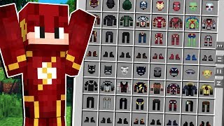 Minecraft Lendário #28: A SALA MEDIEVAL COM TODAS AS ROUPAS DE SUPER HERÓI!!
