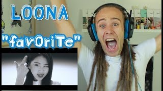 "LOONA 이달의 소녀 - ""favOriTe"" Reaction 