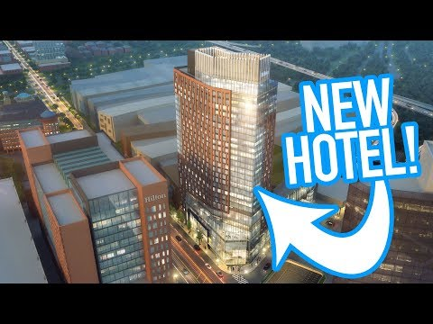 New 28-Story Hilton Hotel In Downtown Columbus, Ohio
