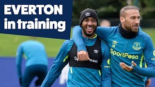 MAD SKILLS + SMALL-SIDED GAMES! | EVERTON IN TRAINING