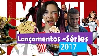 Lançamentos Netflix 2017 -Samurai Jack 2 - Stranger Things 2 - Punho de Ferro - Defensores