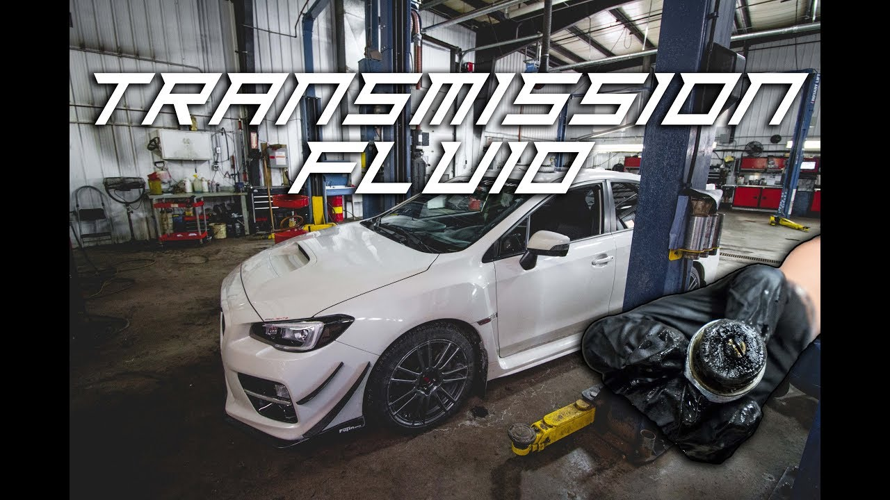 Transmission and Differential Fluid Change | Motul Gear Oil - 2016 2018  Subaru WRX & STI