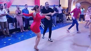 Alien Ramirez pregnant & Mike Al social dancing @Lebanon latin festival