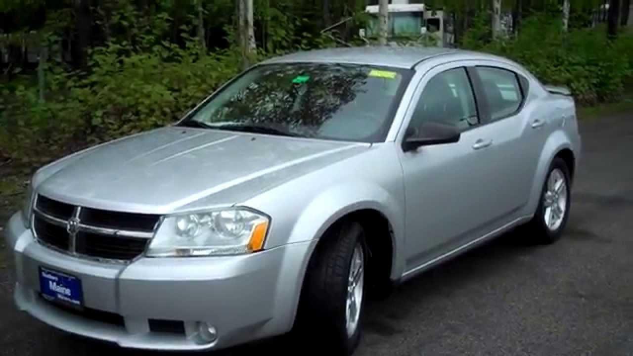 Used 2009 Dodge Avenger SXT #T7202A Southern Maine Motors Saco Me Bangor Portland Boston