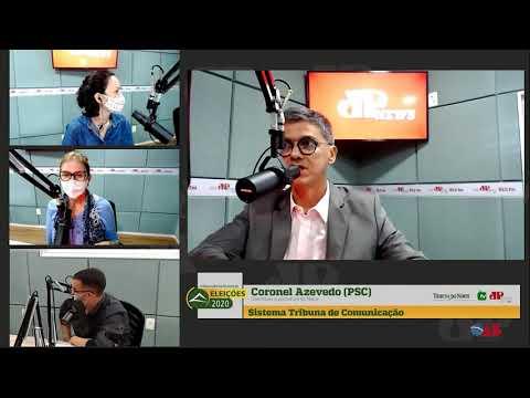 Assista entrevista com o candidato a prefeito de Natal, Coronel Azevedo (PSC)
