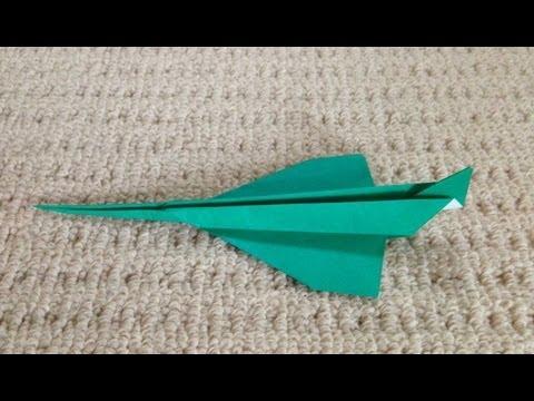 折り 折り紙 よく飛ぶ紙飛行機の折り方 : youtube.com